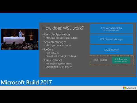 Build 2017 Using the Windows Subsystem for Linux and the
