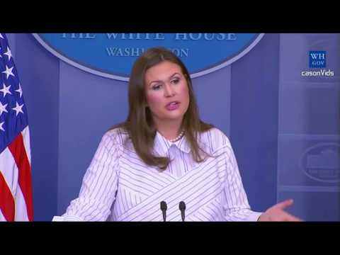 Sarah Sanders Press Briefing 9/14/2017