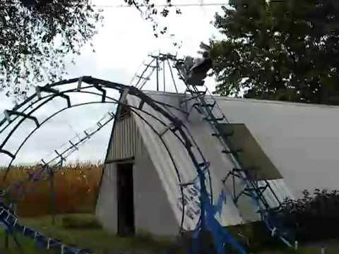 Garten Achterbahn Youtube