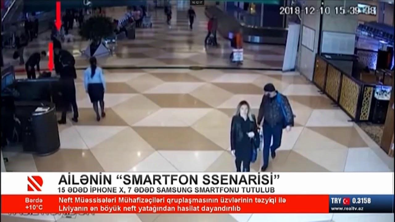 Bakı aeroportunda film kimi cinayət əməli