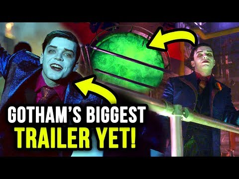 Jeremiah FALLS Into CHEMICAL VAT? Gotham's Crazy FINAL Season 5 Trailer!