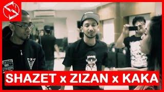Repeat youtube video Shazet Sounds x Zizan Razak & Kaka Azraff - Cantik Rupamu x Infiniti Cinta #HipHopMalaysia