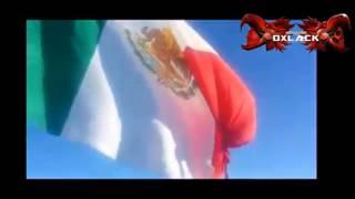 Rifle se enrrolla en Bandera Monumental de Mexico y manda a volar 14 metros a Soldado (Accidente)