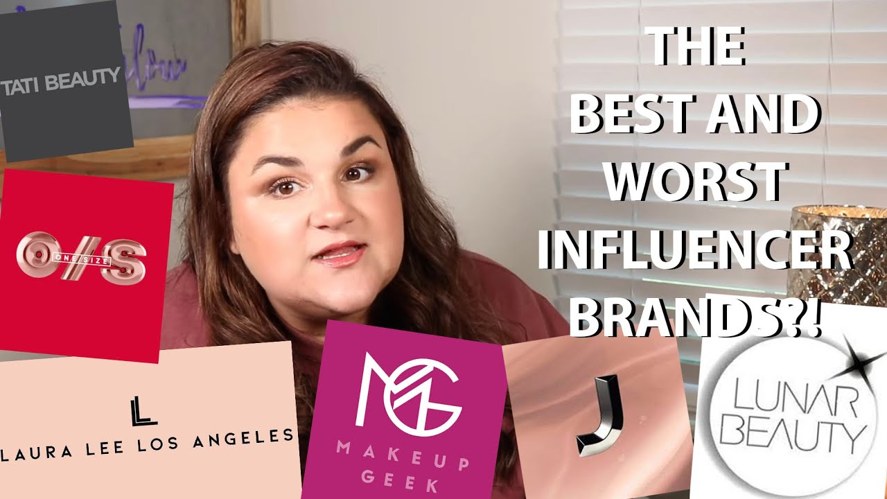 Ranking the BEST and WORST Influencer Brands! *tea*