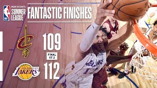 Lakers and Cavaliers Battle in Double Overtime Thriller | 2018 MGM Resorts Summer League