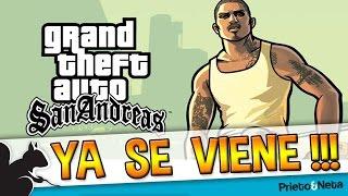 GRAN NOTICIA...TARDE...PERO BUENO // GTA San Andreas HD llegará a PS3