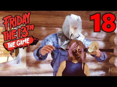 [18] PART II JASON'S FINAL BETA KILL!!! (Let's Play Friday The 13th The Game)