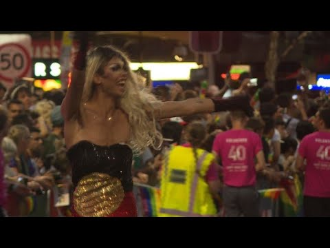 Sydney's Gay and Lesbian Mardi Gras marks 40th anniversary