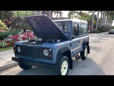 1989 Land Rover Defender D90 FOR SALE
