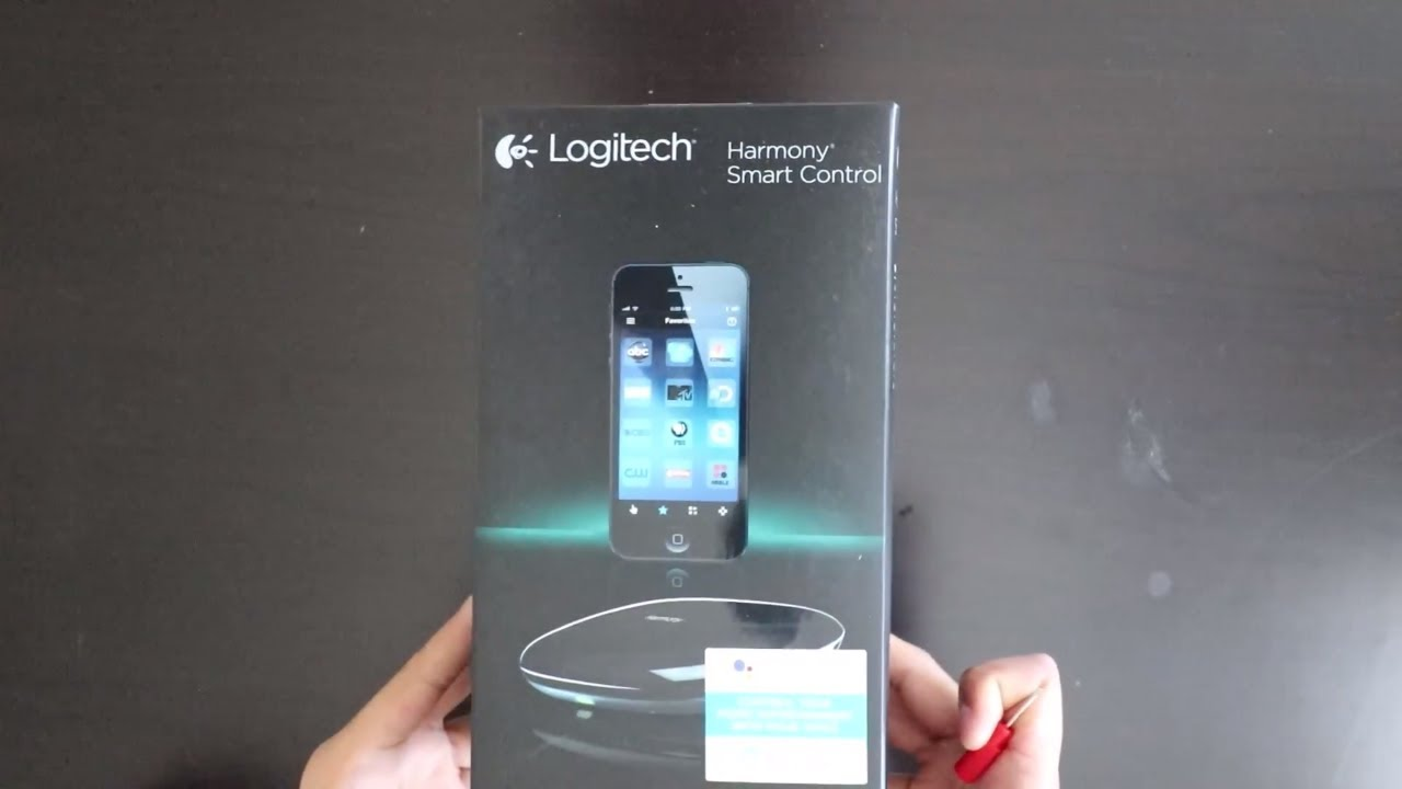 Logitech Harmony Smart Control and Hub Unboxing and basic setup with Voice