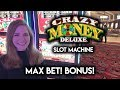 Spinning the Sky Wheel! Crazy Money Deluxe Slot Machine! MAX BET! BONUS!!!