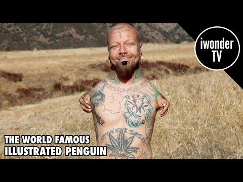 World Famous Illustrated Penguin