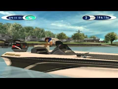 Sega Bass Fishing 2 Game Sample - Dreamcast