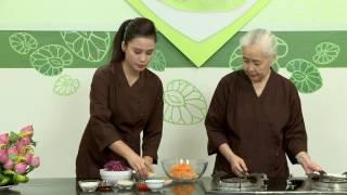 """Chương trình dạy nấu món chay """"Gỏi Bắp Cải Tím"""" Hướng dẫn: Nguyễn D..."""