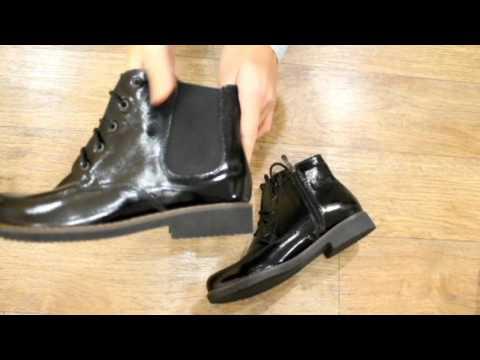 Лаковые ботинки Villomi