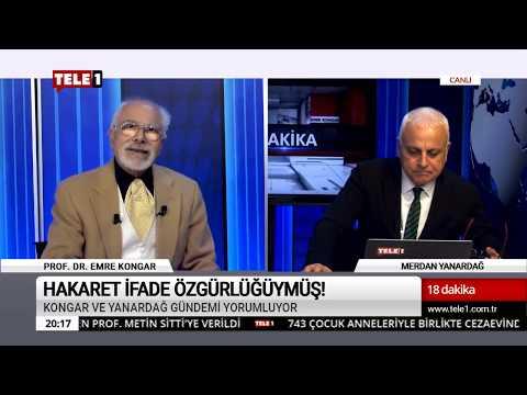 18 Dakika - (22 Kasım 2018) Merdan Yanardağ & Prof. Dr. Emre Kongar   Tele1 TV
