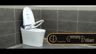 How to use smart toilet GB (Germany Brilliant)?