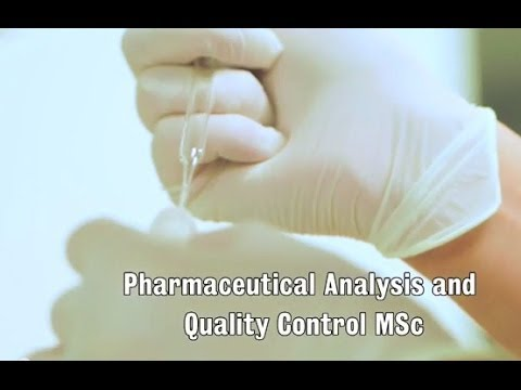 Pharmaceutical Analysis & Quality Control MSc