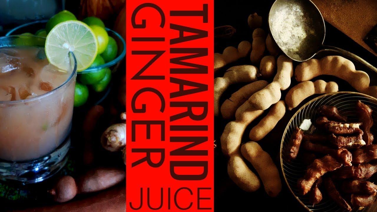 How to make Tangy Tamarind Ginger Juice! Sebi  Alkaline