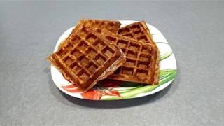 Рецепт Творожно-банановые вафли - видео рецепт ПП вафель, полезный и простой завтрак