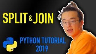 12 - how do I split a string in python? (Python tutorial for beginners 2019)