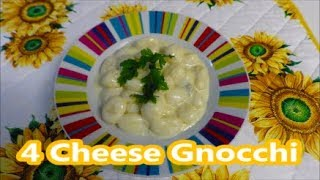 4 Cheese Gnocchi - Traditional Italian Recipe