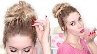 видео Как красиво собрать волосы