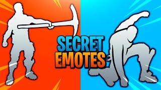 These Secret Fortnite Emotes Are Amazing..!!