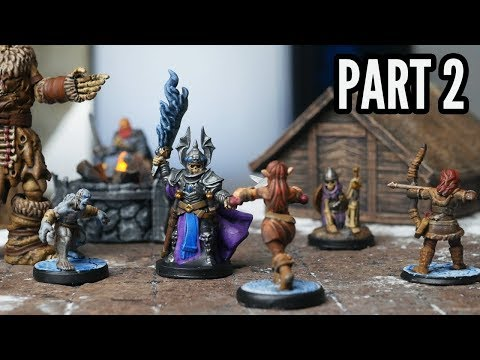 Making A 3D Printed D&D One-shot - PART 2: Minis & Encounter