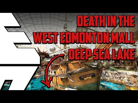 Death in the West Edmonton Mall Lake in Alberta, Canada - Be