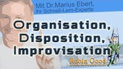 Organisation, Disposition, Improvisation, Definition u. Auswirkungen