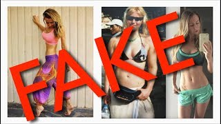 Coming clean about my fake instagram photos...