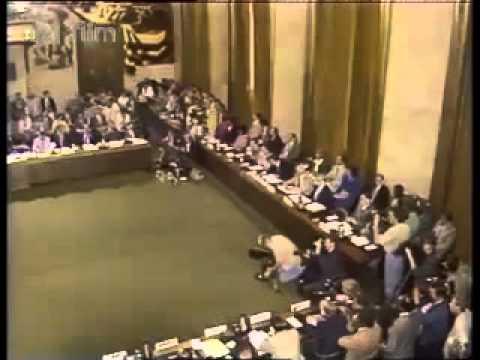 CNN NEWS - Performance of  Eduard Shevardnadze in Zheneva.1987