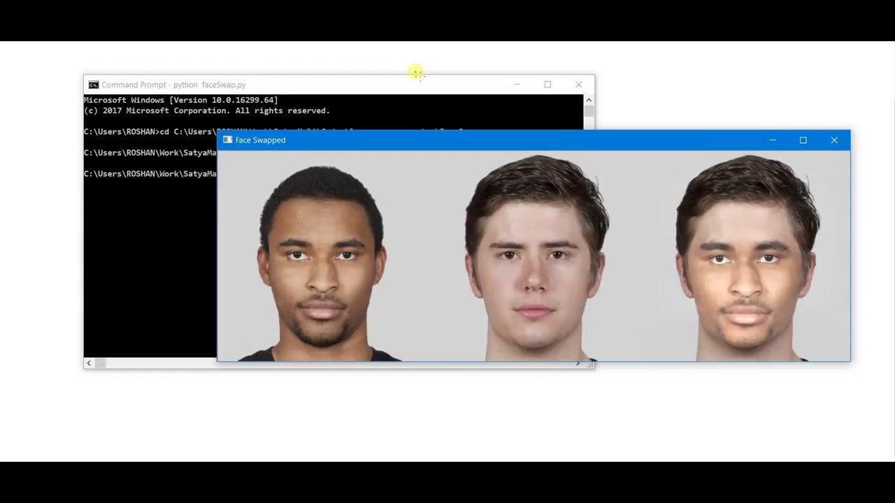 Face Swapping Using Facial Landmark | OpenCV | Python