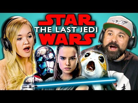 Download Youtube: ADULTS REACT TO STAR WARS: THE LAST JEDI TRAILER