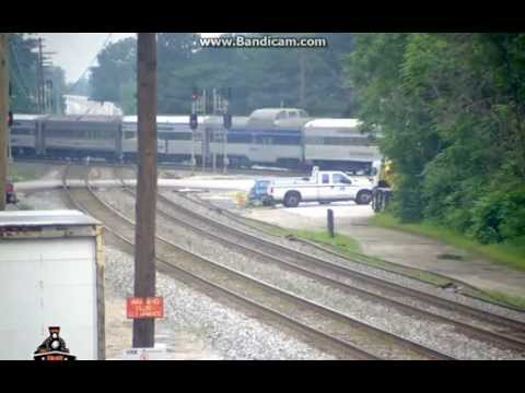 MUST SEE!! Norfolk Southern Moves Cars and Tender from 611 Journey with Freight!