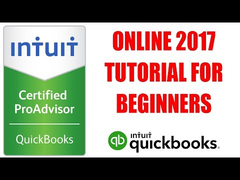 QuickBooks Online 2017 Tutorial For Beginners by Certified ProAdvisor
