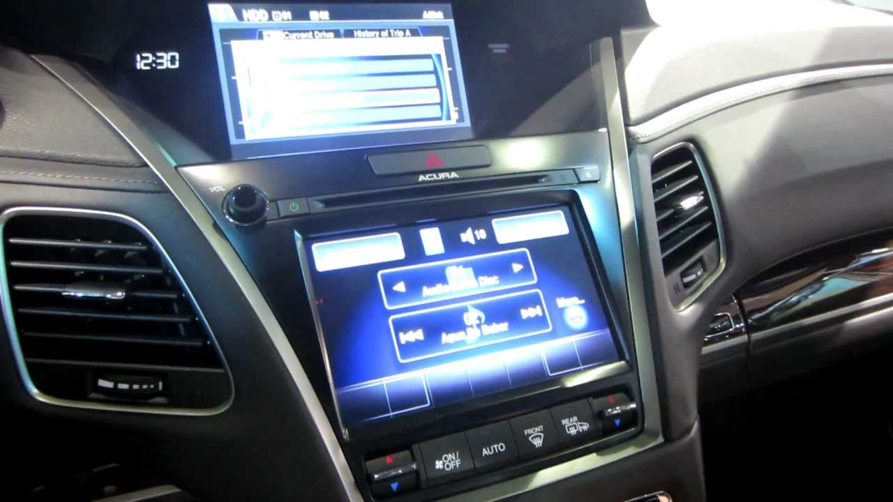 2013 acura rlx launch touch screen mmi navigation user interface exploration youtube. Black Bedroom Furniture Sets. Home Design Ideas