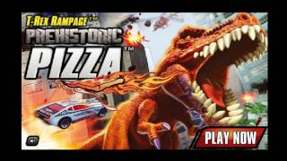 Baby Dragon & Dragon Cartoon - World Cartoons , T-Rex Rampage Prehistoric Pizza Game