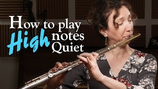 Playing High Notes QUIETLY and SOFT on Flute screenshot 4