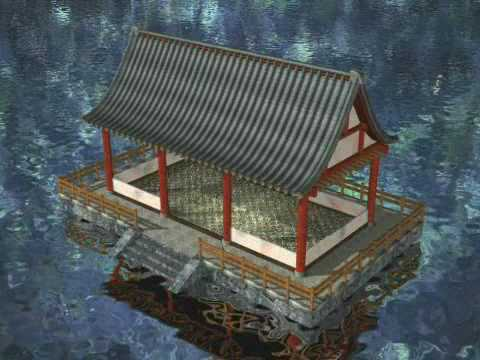 A building process of Chinese traditional architecture ...