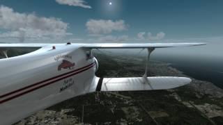 Prepar3D V4 - 2S1 to KCLM - D17 Staggerwing (4K)