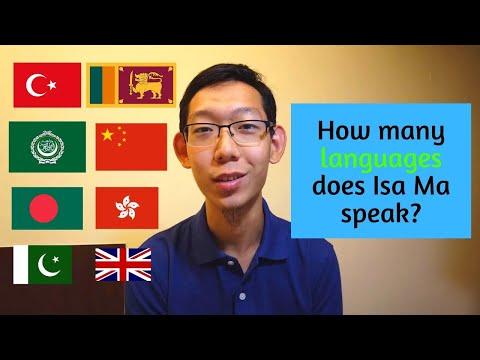 How Many Languages Does Isa Ma Speak?