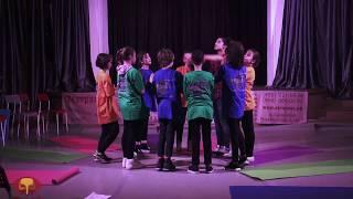 Открытый урок в группе 10-13 лет (сценическая речь)