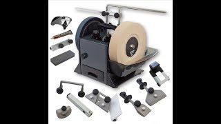 Точильный станок для ножей и инструментов для деревообработки. Обзор.