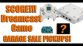 SCORE!!! Dreamcast Game at a garage sale