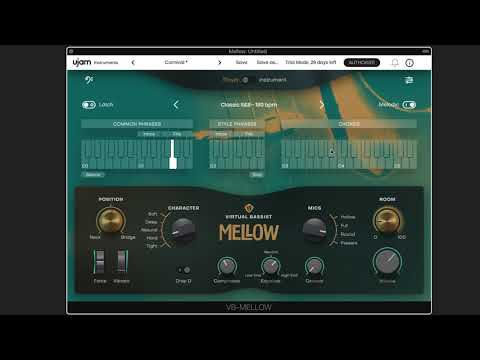 Can the New Virtual Bassist Mellow From UJAM Successfully Create a Convincing Jazz Solo?