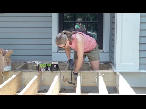 How To Build Deck Frame