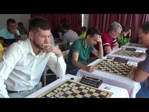 03.09.2019. Blitz. Чемпіонат Європи з шашок-64. Дорослі. День 9