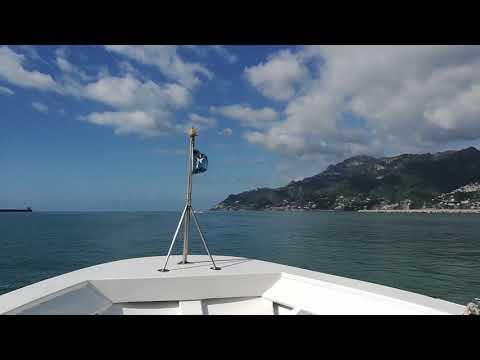 Salerno, Boat Ride. ITALY